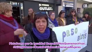Plataforma por la Igualdad Raspeig #NosQueremosVivas #NiUnaMenos #BastaDeViolenciaHaciaLasMujeres