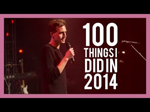 100 THINGS I DID IN 2014
