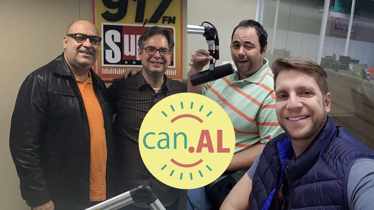 ENTREVISTA NA RÁDIO SUPER NOTÍCIA 91,7 FM | Amigos da Luz | Humor e Espiritismo