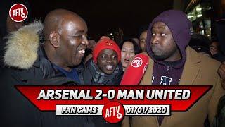 Arsenal 2-0 Man United | Xhaka & Torreira Were Excellent! (Stricto)