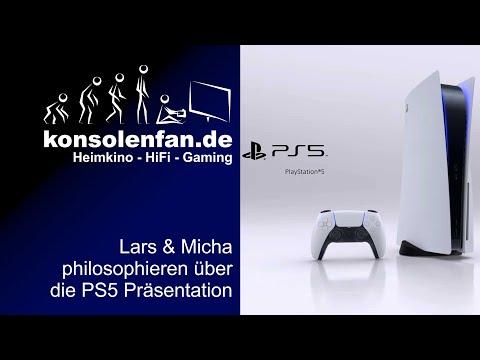 Philiosophie zur PS5 - zwei ältere Herren sprechen über die PS5 und die Trailer zu den Spielen