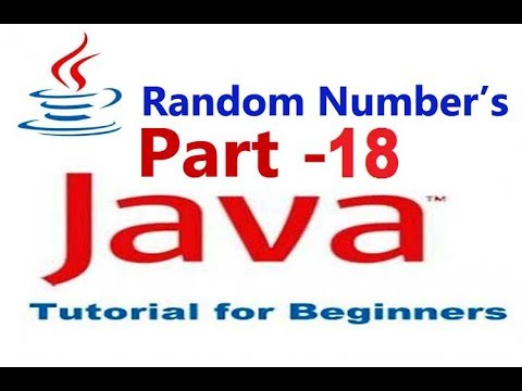 How To Use Random Number In Java Netbeans For Beginners Part#18