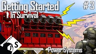 Power Systems - Getting Started in Space Engineers #3 (Survival Tutorial Series)