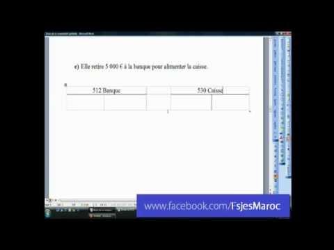Cours vidéo: les base de comptabilité générale pour débutants