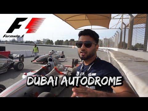 Dubai Autodrome F1 Car Drive - VLOG