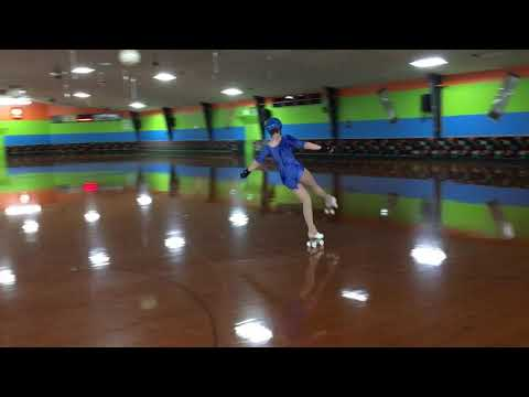 Artistic Roller Skating American Iceland Tango