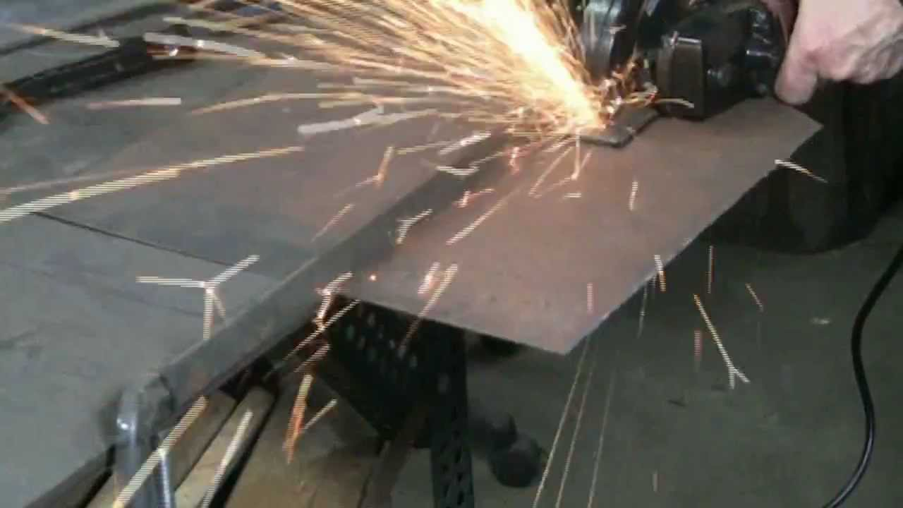 Straight cutting metal with abrasive discs youtube dailygadgetfo Image collections