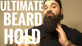 AMAZING way to get a straighter beard!!! | Beard Wax Review