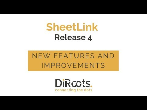 Revit Plugin Import/Export data | SheetLink by DiRoots | Download Now