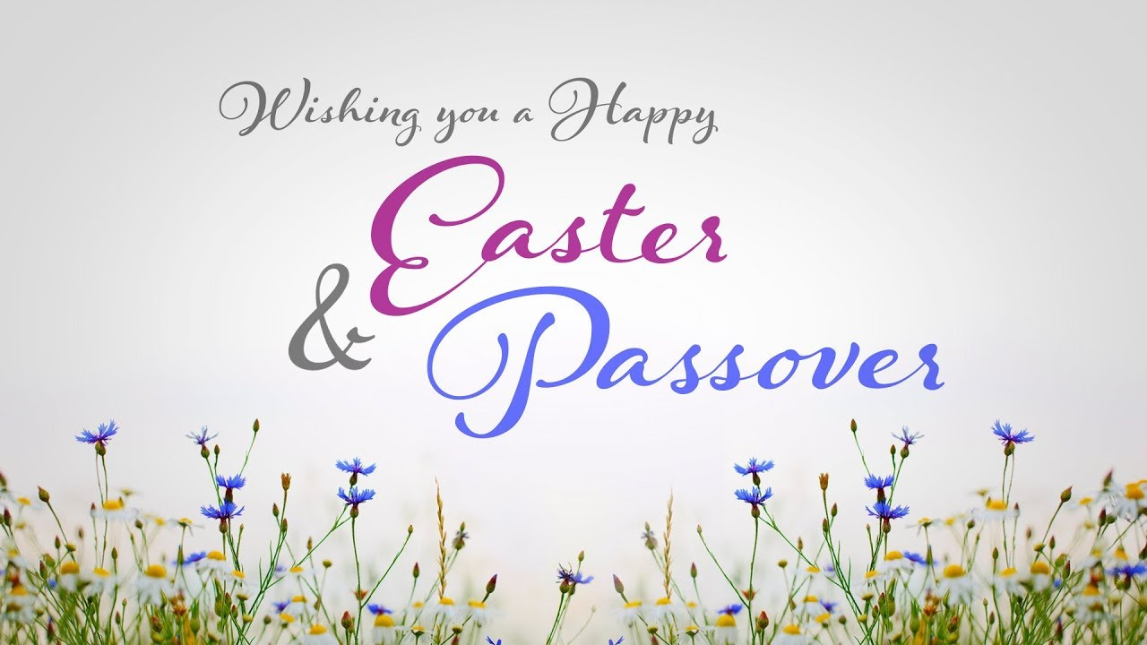 Easter And Passover Greeting Youtube