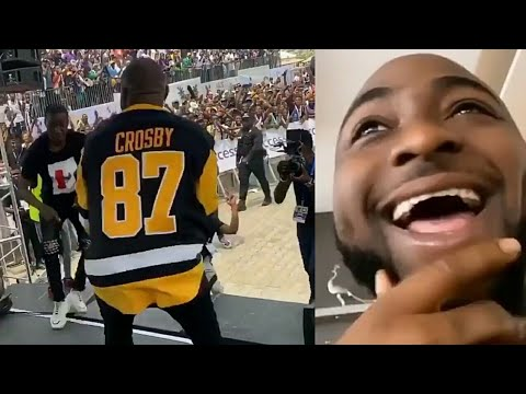 "Davido: "" Why I Ran Off Stage When A Fan Approached Me..."