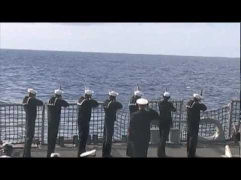 Navy Burial at Sea