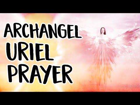 Archangel Uriel Prayer ~ An Angel Prayer to Call Uriel, The Archangel of Light