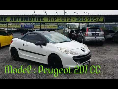 peugeot 207 cc cabriolet youtube. Black Bedroom Furniture Sets. Home Design Ideas