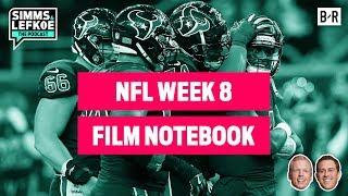 Rodgers vs. Brady: Who is the True GOAT? | NFL Week 8 Film Notebook
