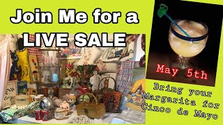 Join the LIVE SALE with Tam and  your Margaritas