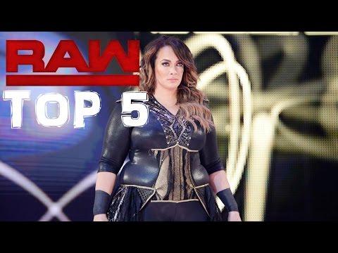 NIA JAX BRINGT CHARLOTTE FAST UM?! - WWE RAW 10.04.2017- Top 5 Momente  [German/Deutsch]
