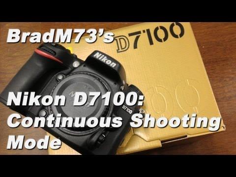 Nikon D7100 Continuous Shooting Mode Speeds!!