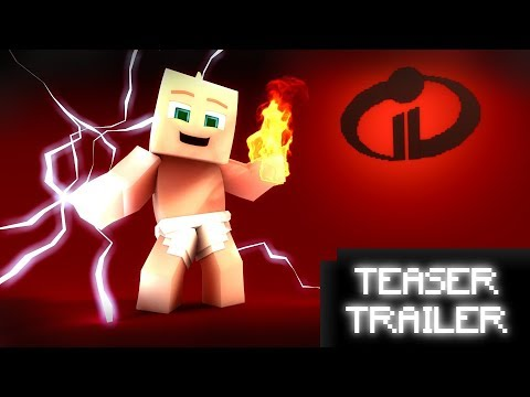 Incredibles 2 Teaser Trailer - ReMake [ Minecraft Animation ]