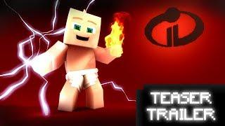 Incredibles 2 Teaser Trailer [ Minecraft Re-Make Animation ]
