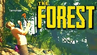 The Forest Funny Moments w/ Friends - Worst Survivalists Ever, Baseball, Awful Houses and More!