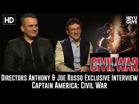Directors Anthony & Joe Russo Exclusive Interview - Captain America: Civil War
