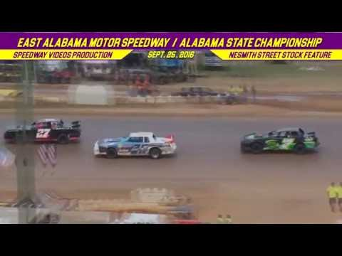 NeSmith Street Stocks | East Alabama Motor Speedway | Sept  25 , 2016