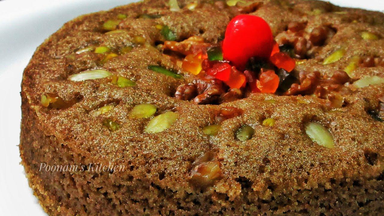 how to make eggless chocolate sponge cake in microwave