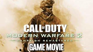 MODERN WARFARE 2 Remastered All Cutscenes (Game Movie) 1080p