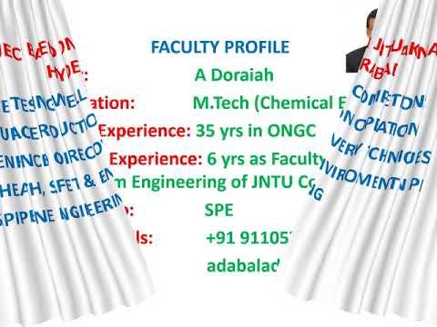 Online coaching: B Tech Petroleum Engineering Subjects