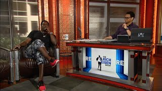 LaVar Arrington of NFL Network Tells NFL Combine Stories & More In-Studio on The RE Show - 2/26/16