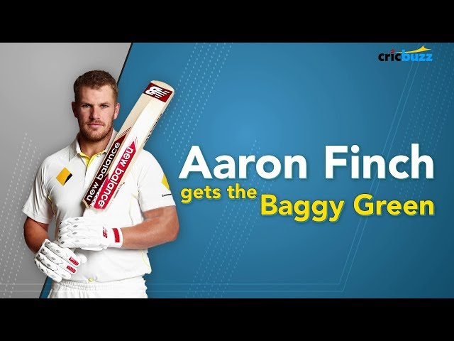 Aaron Finch: Red-ball ready