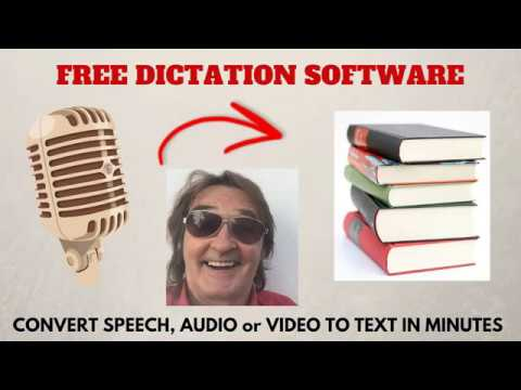 Convert Speech To Text With FREE Dictation Software Audio To Text Software Video To Text Software