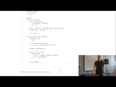 "Live Brownbag - ""Building a Bitcoin Arbitrage Bot"" With Tyler Coyner"