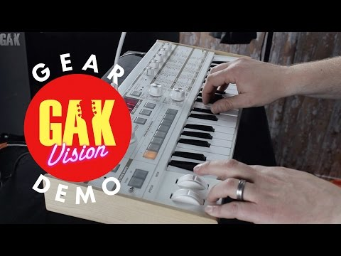 GAK PRO AUDIO : Korg microKORG S Synthesizer Demo