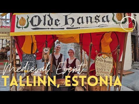 Medieval Summer Event in Tallinn, Estonia