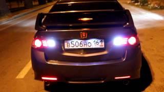 LED-тюнинг оптики Honda Accord VIII 無限 ホンダアコードGidroS