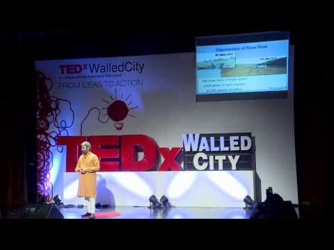 River rejuvenation through community participation | Darshak Hathi | TEDxWalledCity