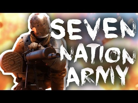 [BF1] So I decided to recreate Seven Nation Army with only ...