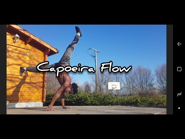 Capoeira Flow / Floreios e fluência - Gugu Quilombola