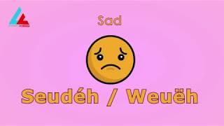 #4 Learning With Emoticons (Meureunoe ngon emotikon) | Learning Acehnese Language