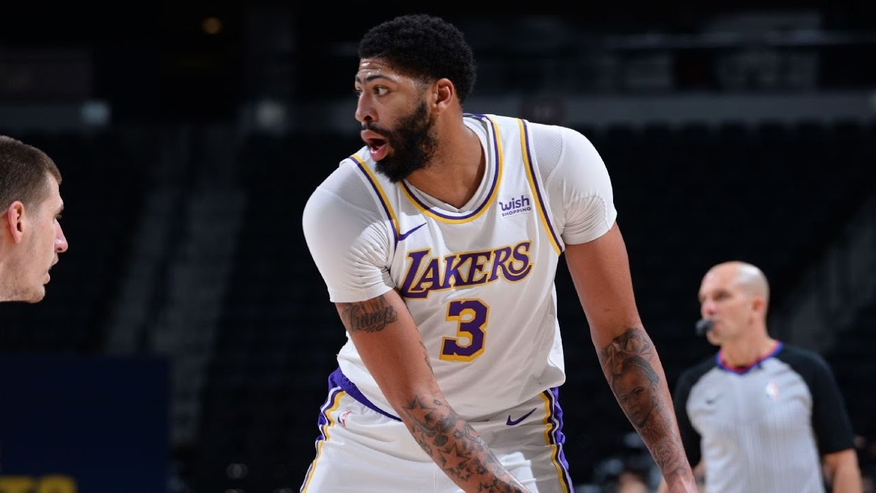 Lakers Star Anthony Davis Awaiting MRI Result: 'They Don't Believe ...