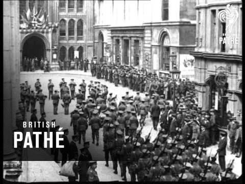 Lord Kitchener - Great Public Demonstration Of Loyalty To K Of K (1914-1918)