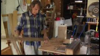 How To Make A Wooden Table Lamp : Making A Top Cap For A Table Lamp