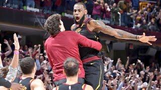 LeBron James'ten muhteşem maç sonu ve game winner! Ve Cedi Osman'la sevinci!