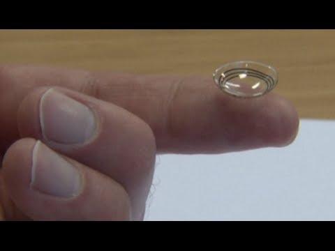 Google reveals smart contact lens