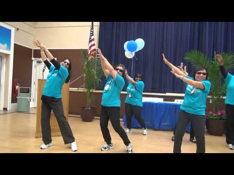 open-gangnam-style-dance-for-nurse's-week-2013---santhi-with-mssc-team