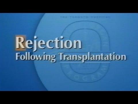 Rejection Following Transplantation