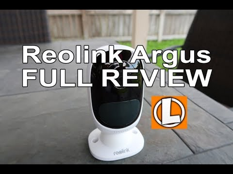 Reolink Argus Review 100% Wire Free Outdoor WiFi Camera - Unboxing, Setup, Installation, Footage