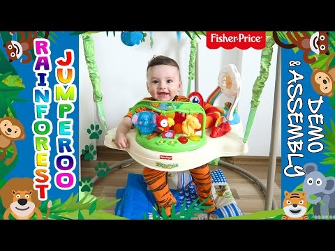 RAINFOREST JUMPEROO FISHER PRICE - DEMO & ASSEMBLY   MOMMY MONDAY